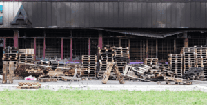 Fire damage to a commercial building in Jackson county is restored by ZIPCO restoration's team.