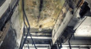 kansas city mold damage remediated from a warehouse on main street